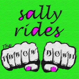 Sally Rides album cover FINAL. texture